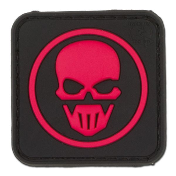 Patch 3D Ghost Recon Jackets to Go, nero-rosso