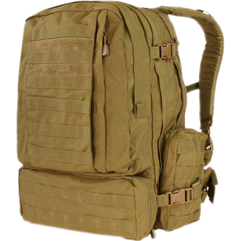 Zaino 3-Day Assault Pack marca Condor marrone coyote