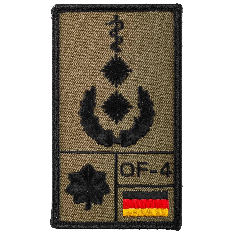 Patch di rango Medico Luogotenente marca Café Viereck oliva