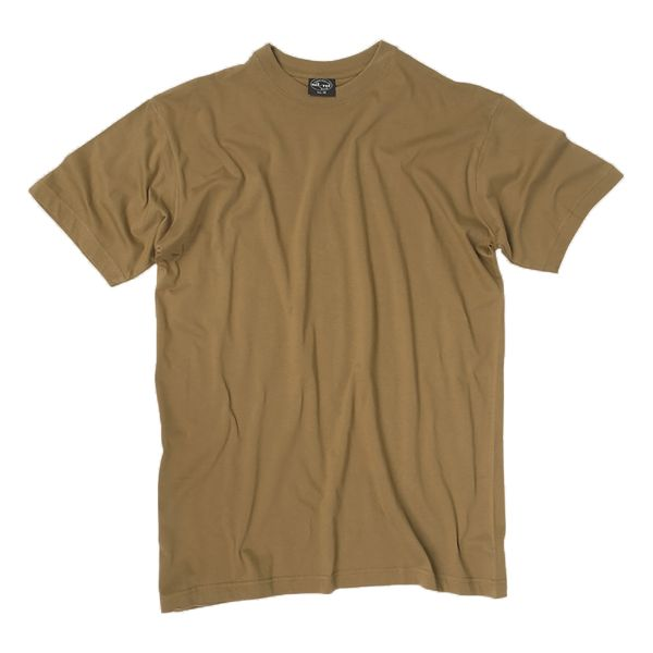 T-Shirt, US Style, marca Mil-Tec, coyote