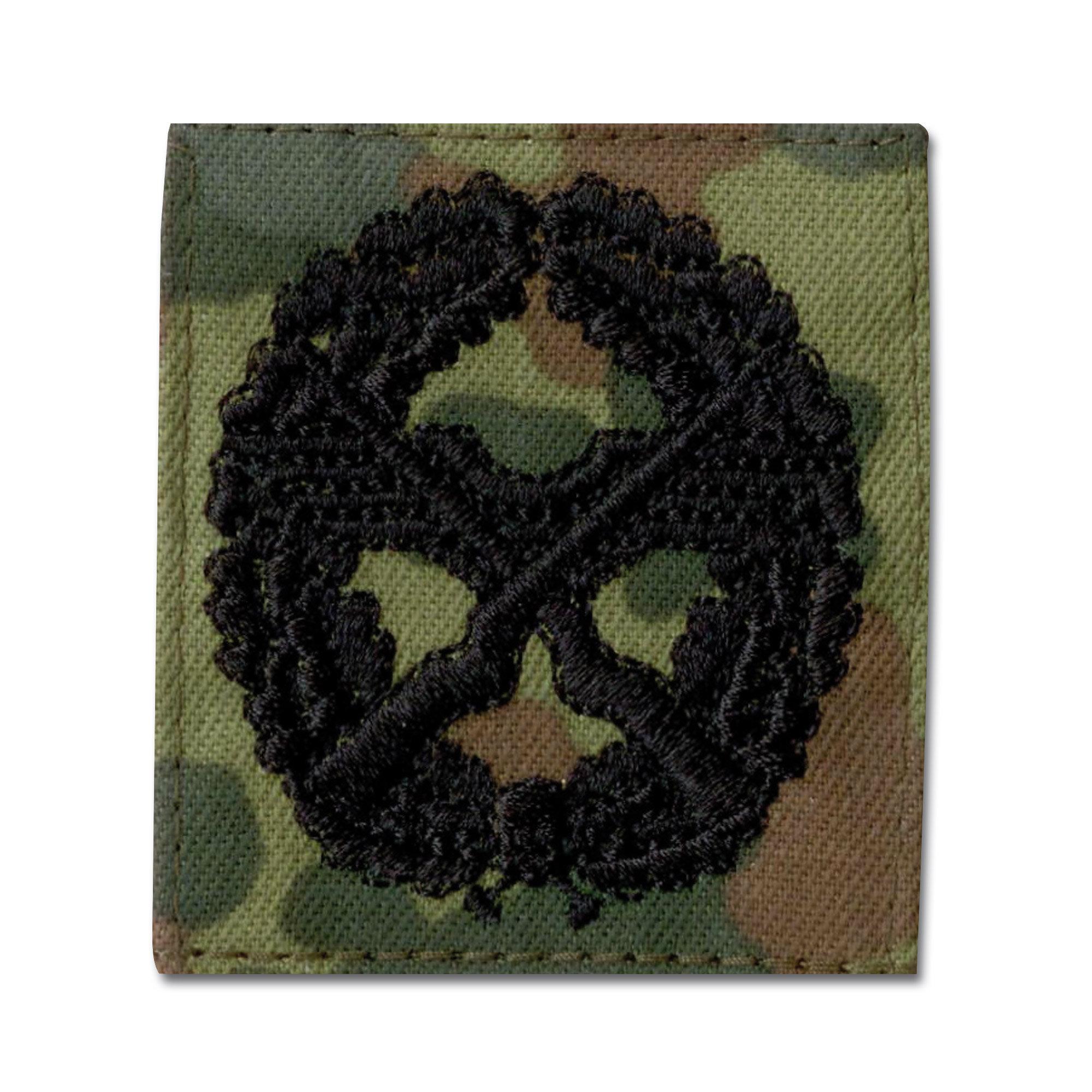 Insignia cloth Sichtruppführer flecktarn/black