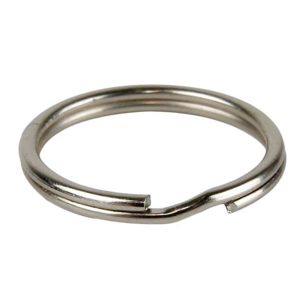 Anello portachiavi/ dog tags argento
