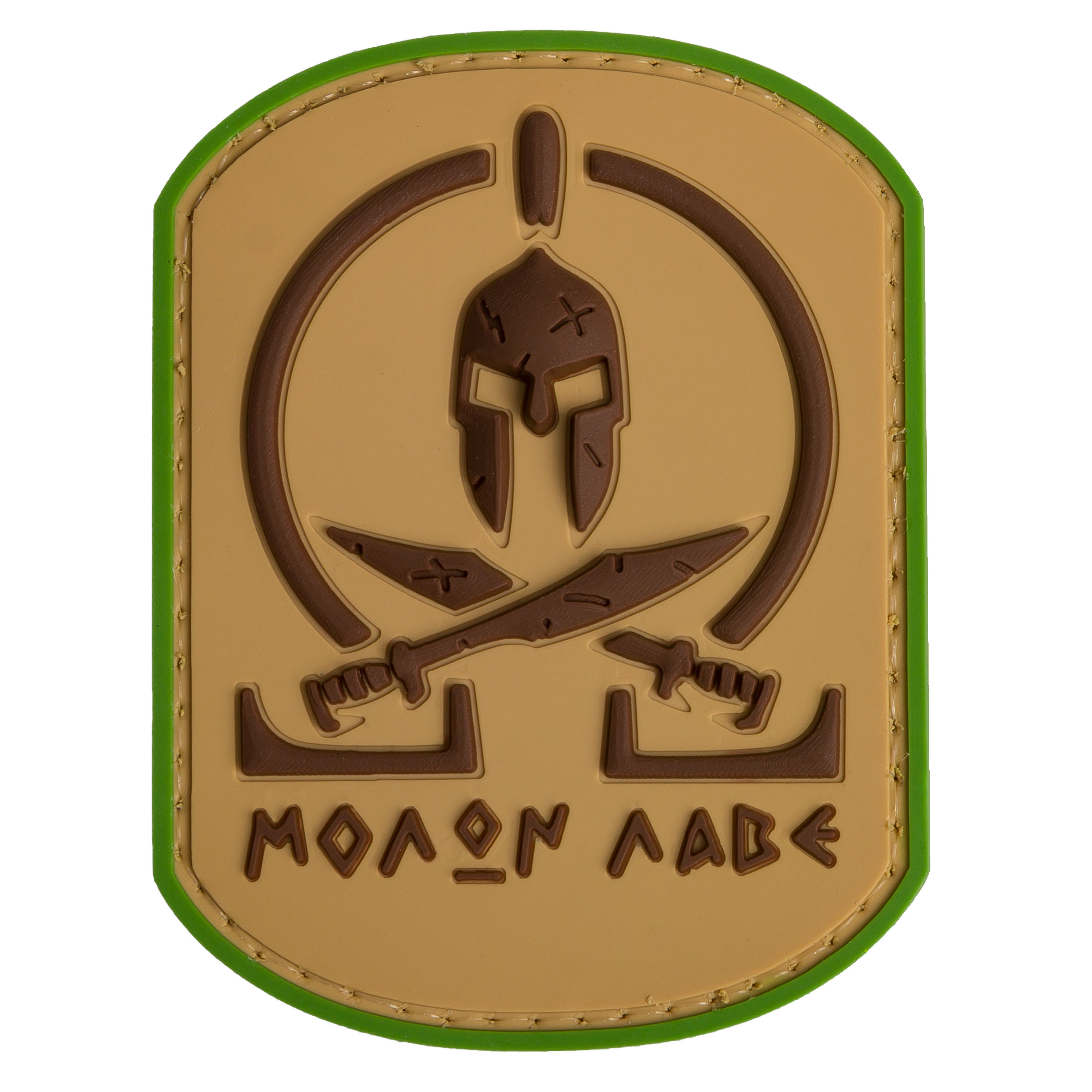Patch 3D TAP Molon Labe Spartan multicam