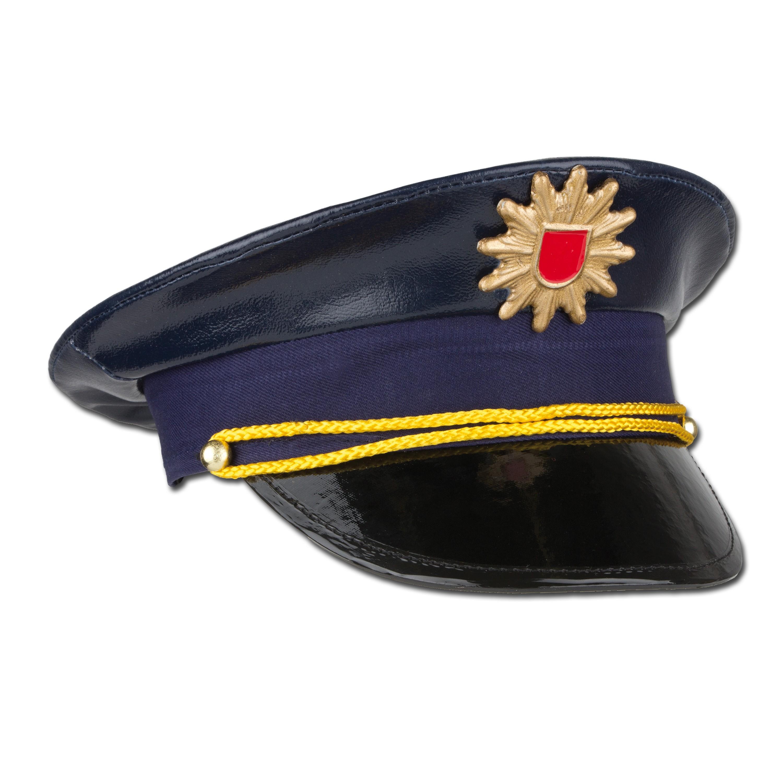 Berretto da poliziotto per bambino, colore blu