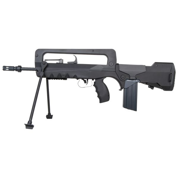 Fucile Softair Cybergun FAMAS F1 S-AEG 1.3 J nero