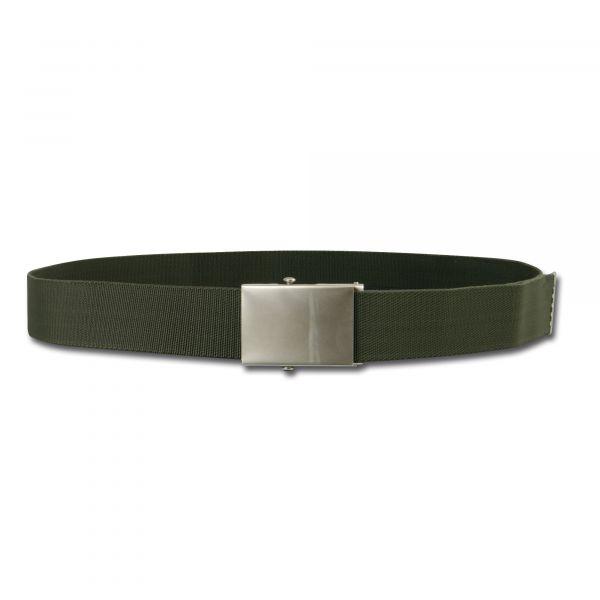 Cintura per pantaloni elastica verde oliva