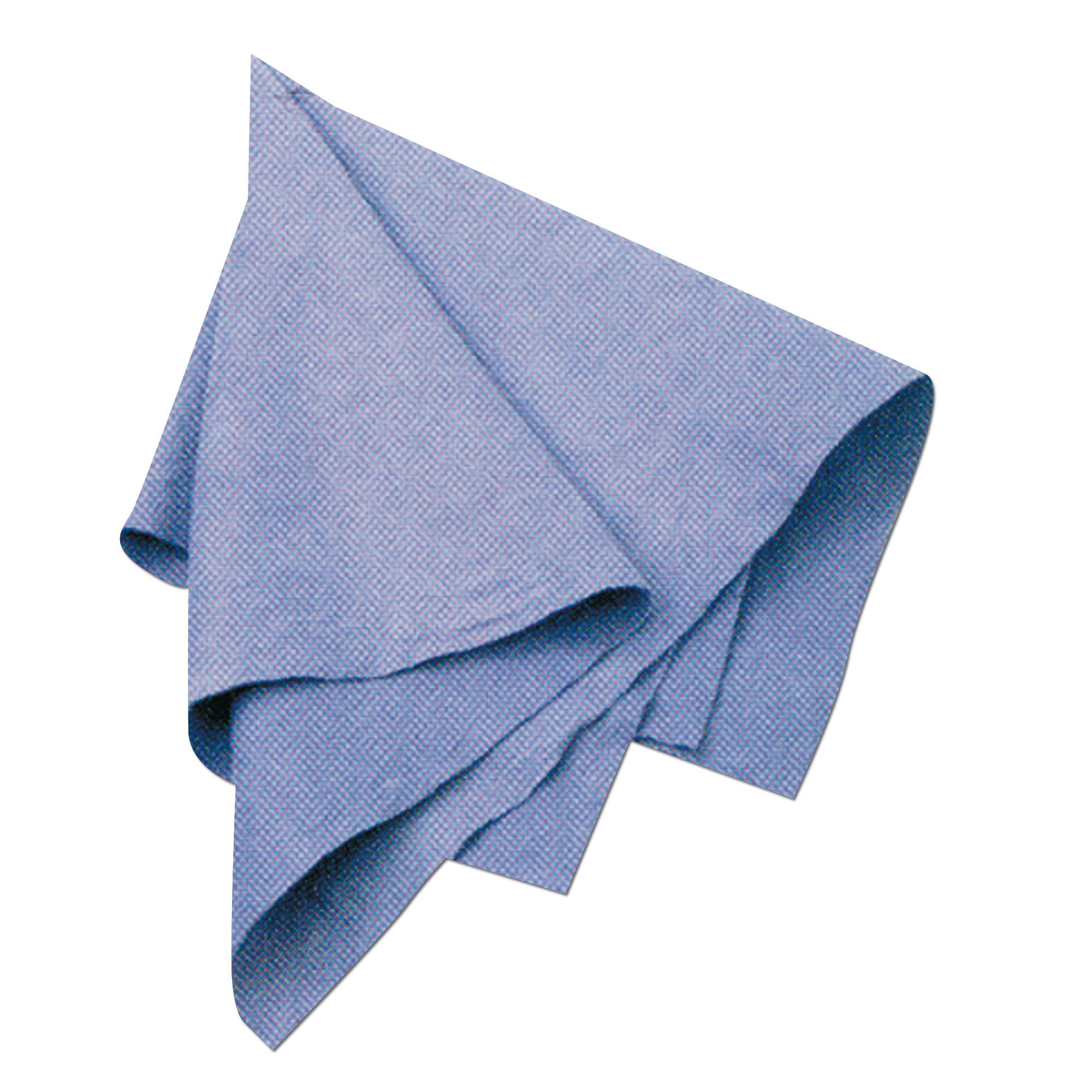Asciugamano in viscosa blu