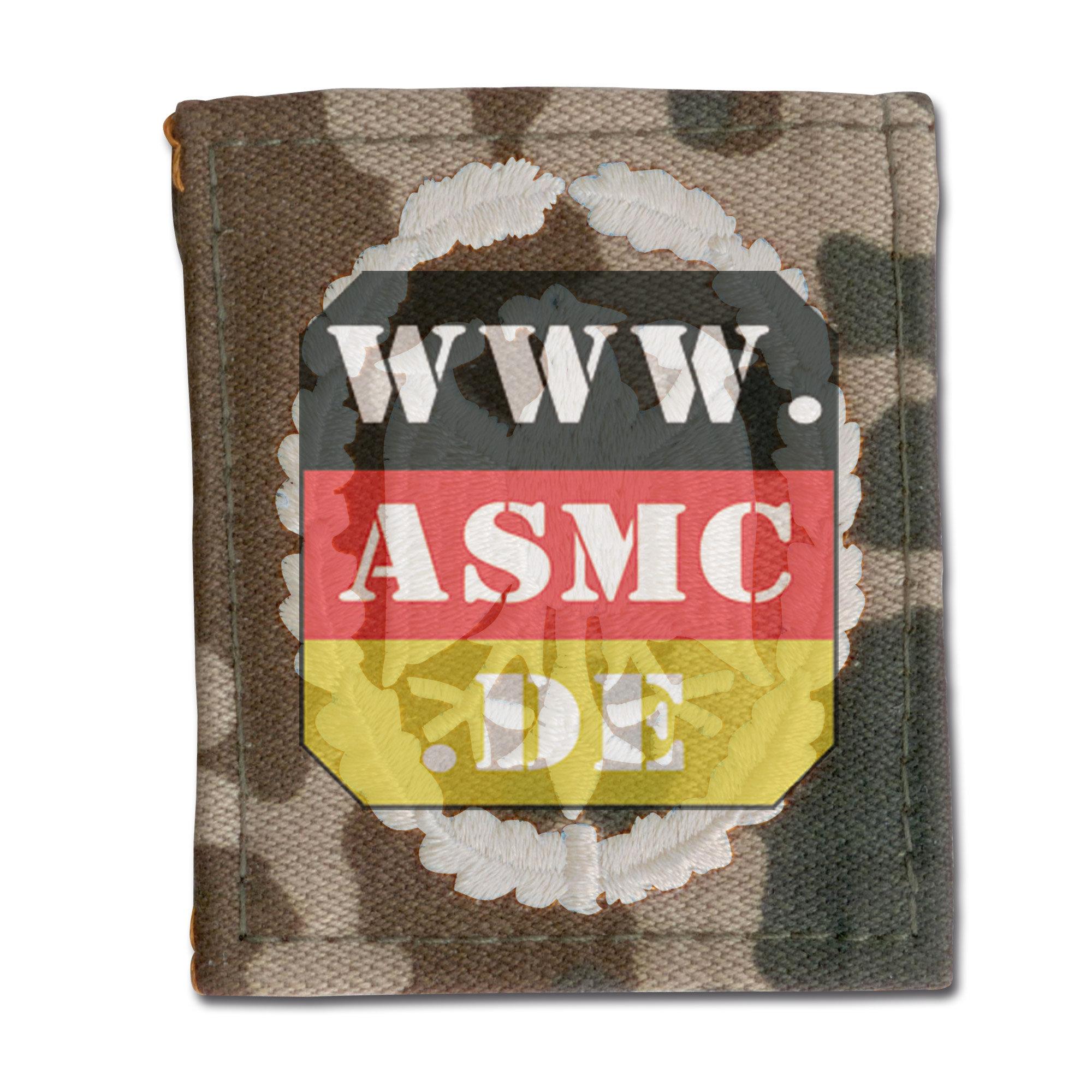 Distintivo servizio BW mimetico/argento modello precedente
