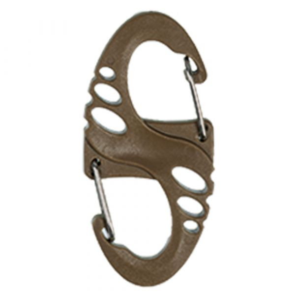 Moschettone Mil-Tec Tactical S-Hook 10 pezzi colore coyote