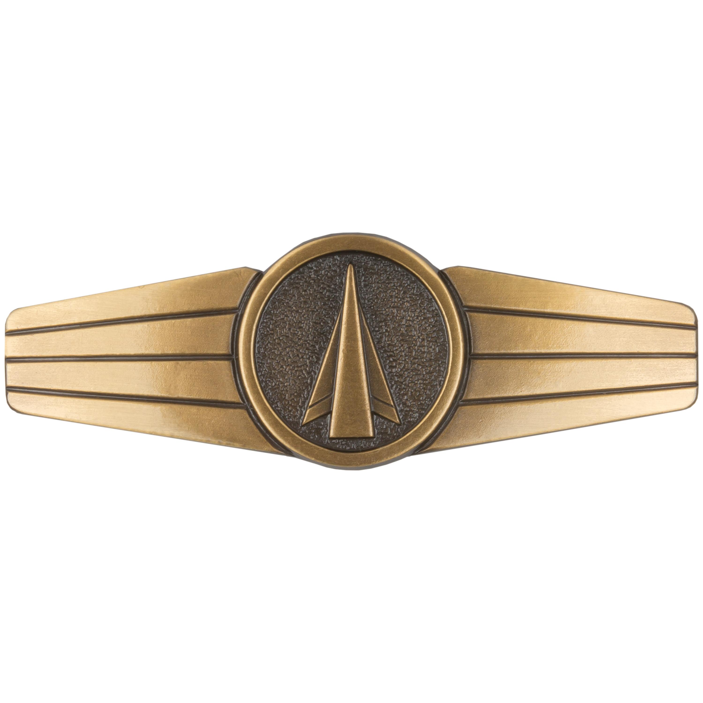 Distintivo in metallo Personale Aviatore missilistico BW bronzo