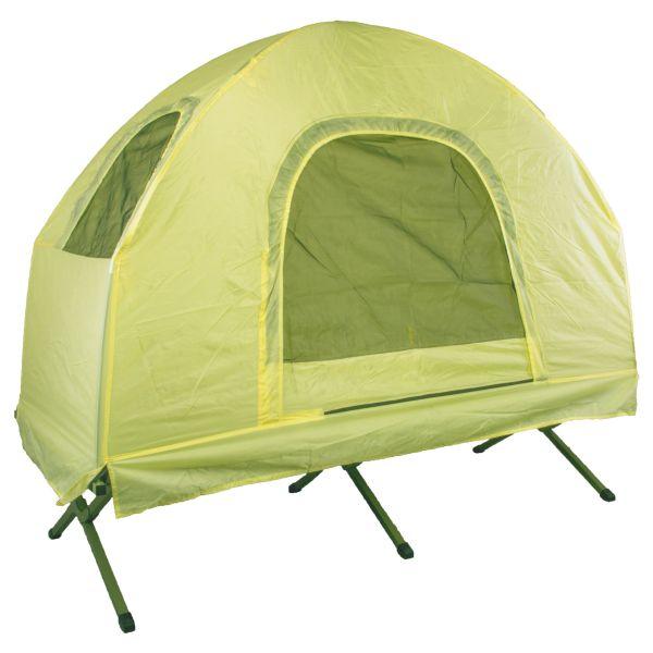 Brandina da campeggio con tenda giallo