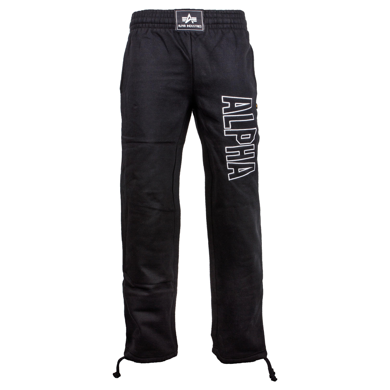 Pantaloni sportivi, serie Track, Alpha Industries, colore nero