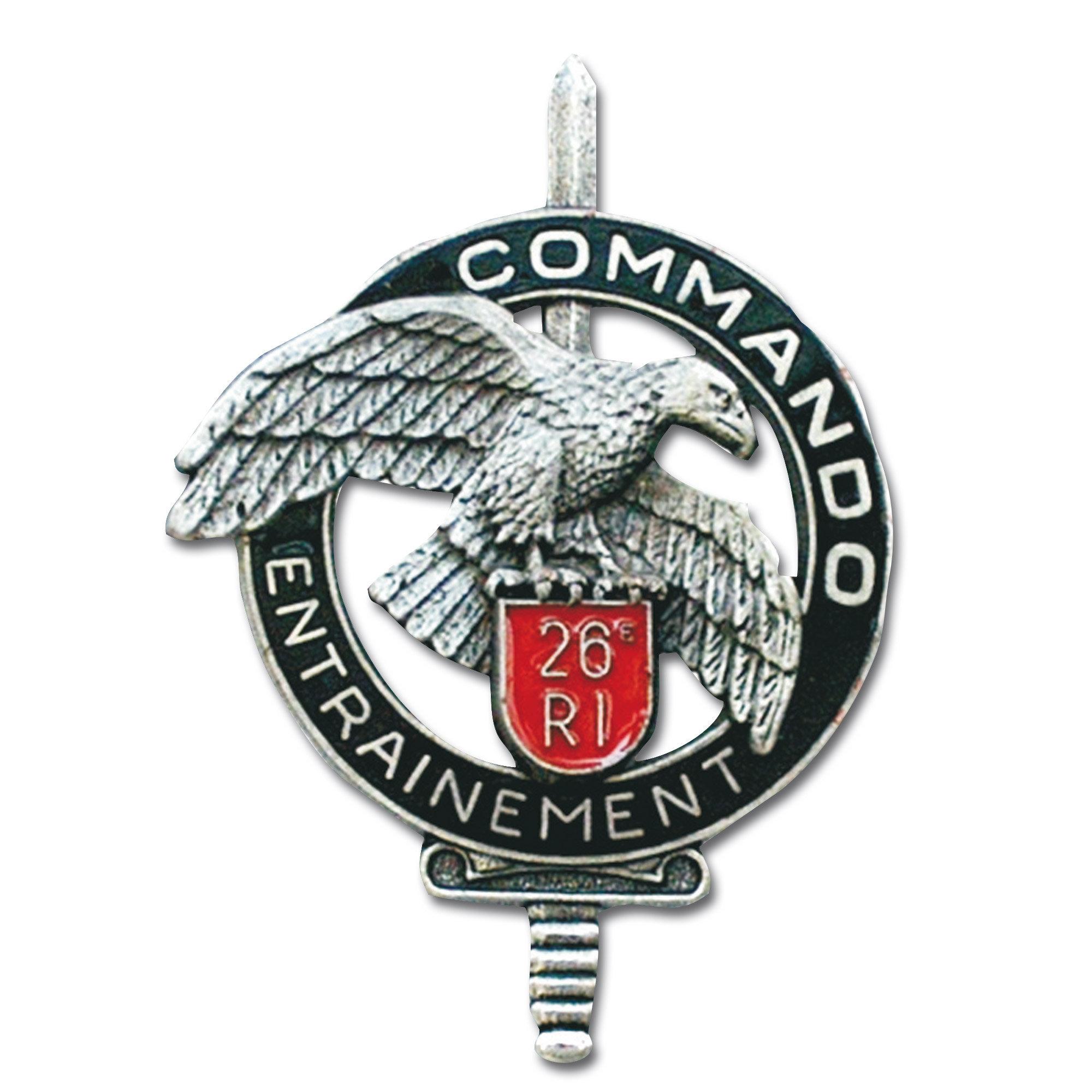 French metall insignia CEC 26e RI