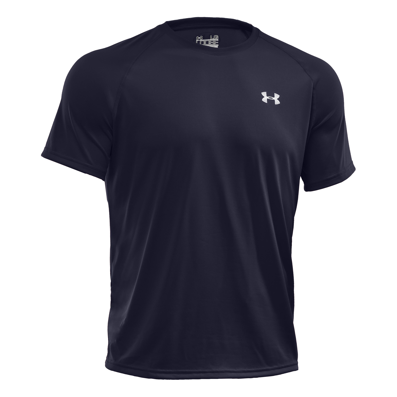 T-Shirt da uomo, Tech SS Tee, Under Armour, colore blu scuro