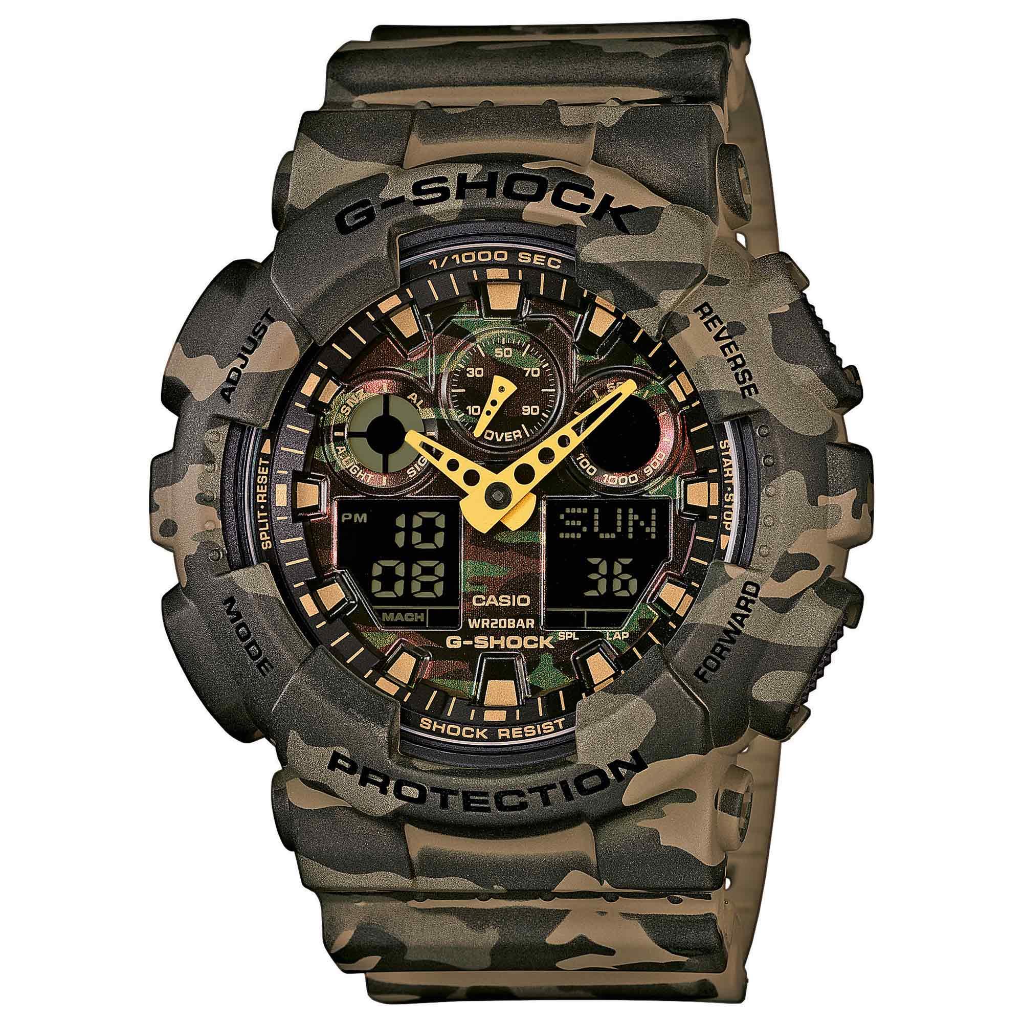 Orologio Casio G-Shock Classic GA-100CM-5AER woodland