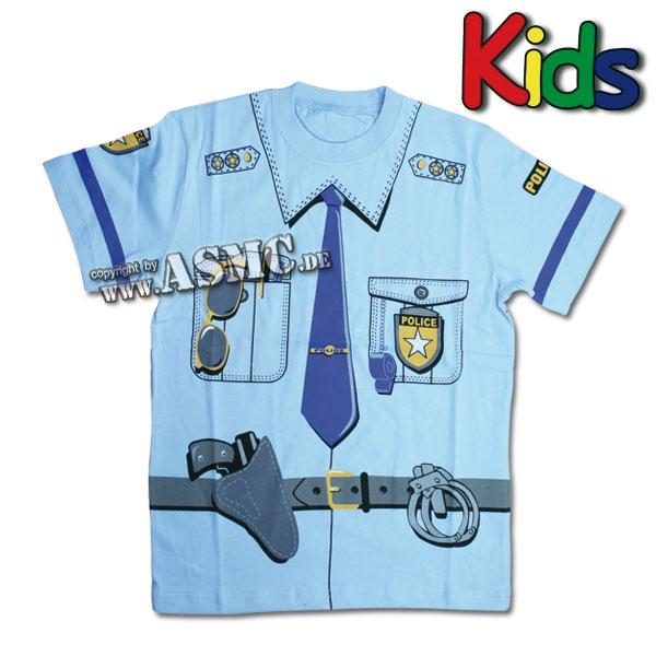 T-Shirt Police da bambino