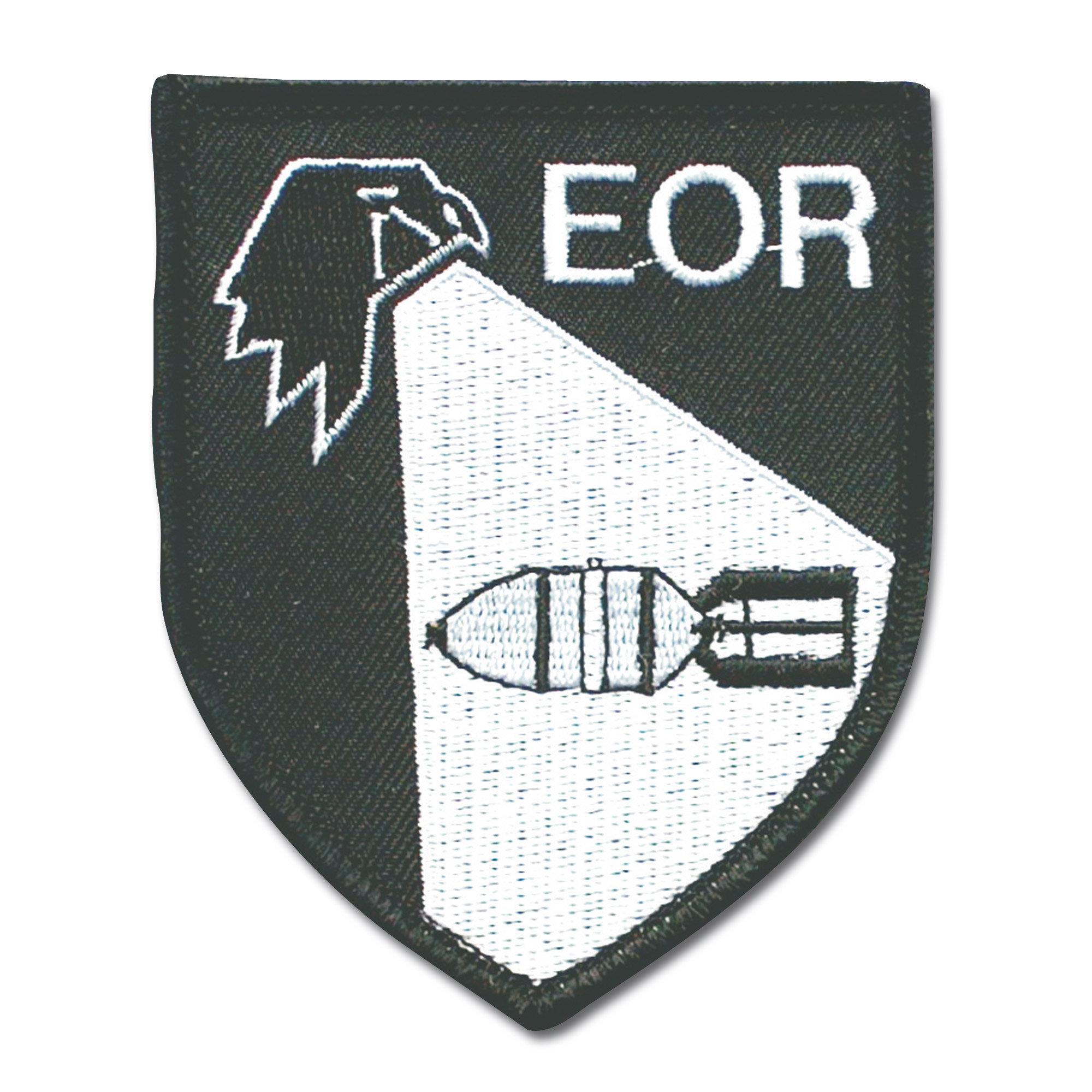Distintivo in tessuto Kampfmittelerkunder EOR
