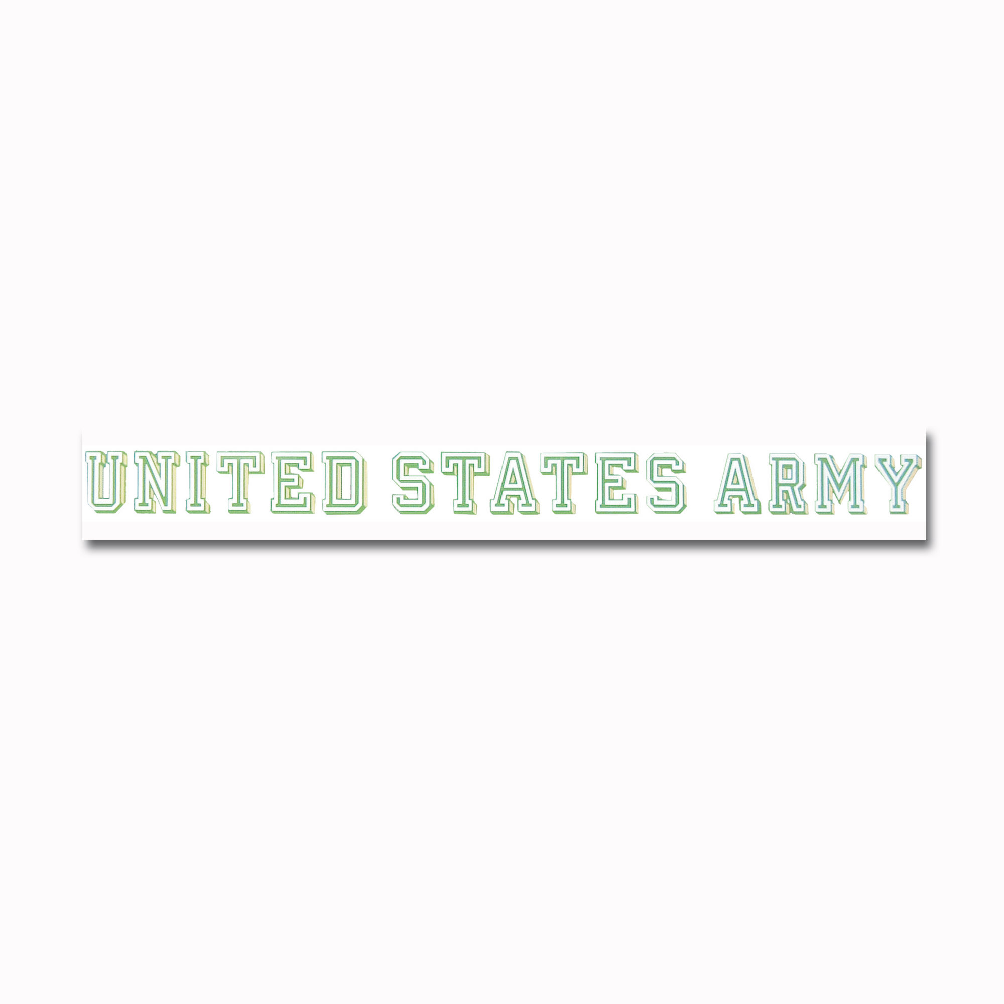 Window decal UNITED STATES ARMY