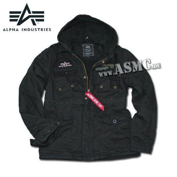 Giacca Alpha Rod nera