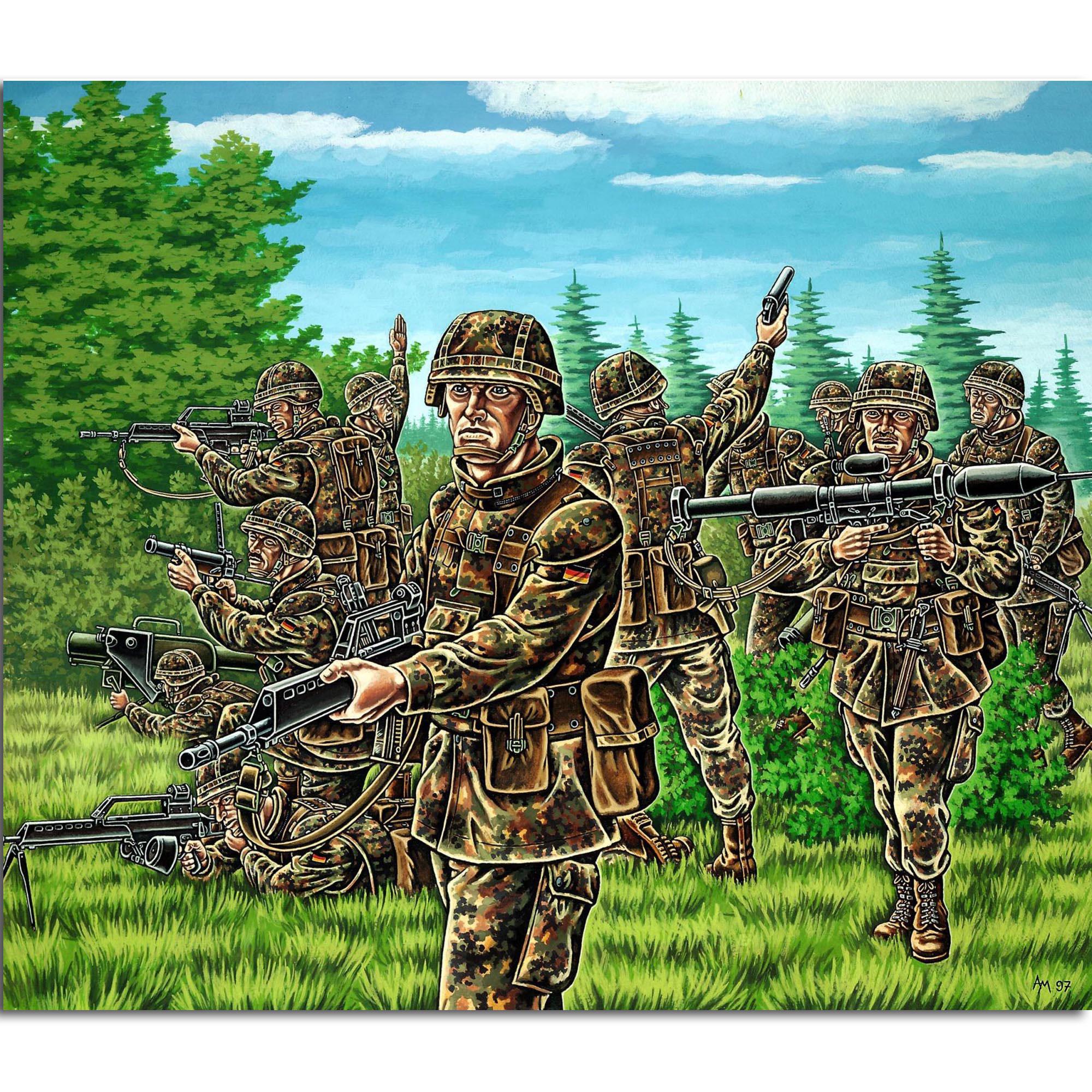 Revell Deutsche Panzergrenadiere