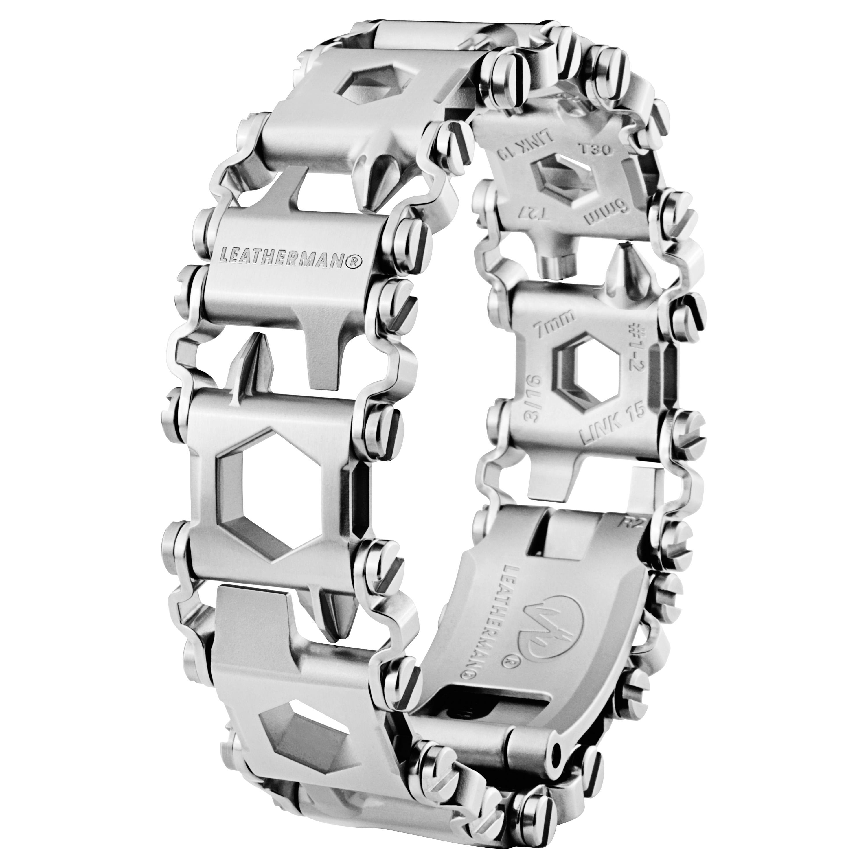 Bracciale Multitool Tread LT marca Leatherman argento