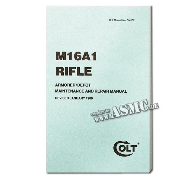 Book rifle M16A1
