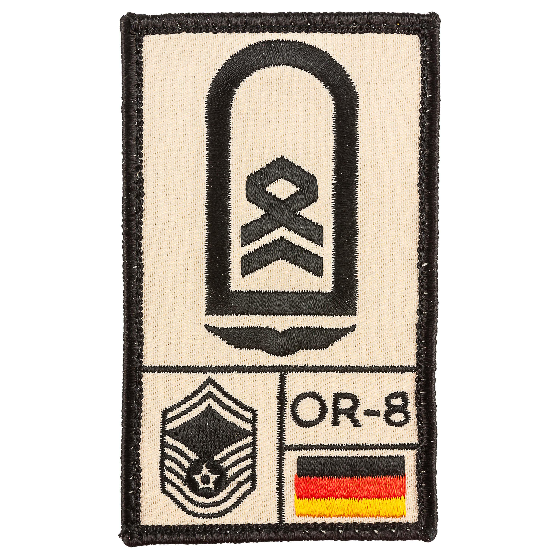 Patch di rango Cafè Viereck Sergente Aeronautica sabbia
