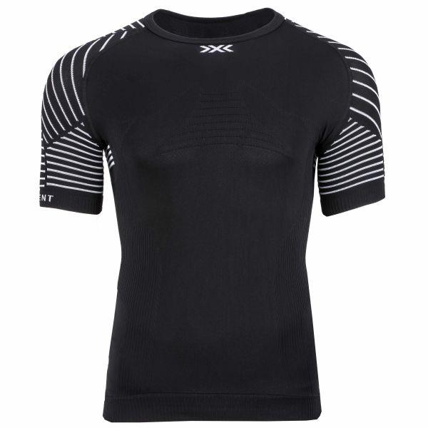 T-Shirt funzionale girocollo LT marca X-Bionic nero bianco
