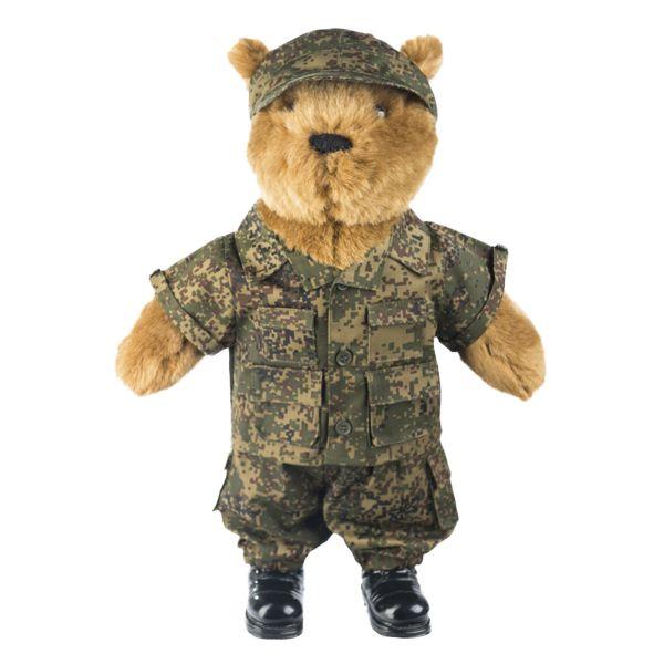 Completino militare russo per peluche grande digital tarn