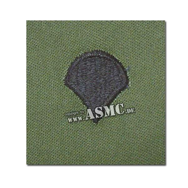 Distintivo di rango in tessuto US Specialist verde oliva