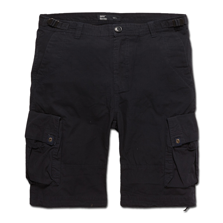 Shorts Terrance, Vintage Industries, blu scuro
