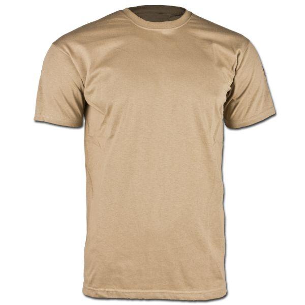 Maglietta intima BW tropicale senza velcro coyote