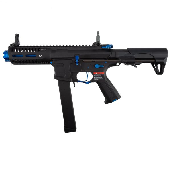 Fucile softair ARP 9 SKY G&G 0.5 Joule AEG nero blu