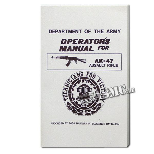 Book Operators Manual AK-47