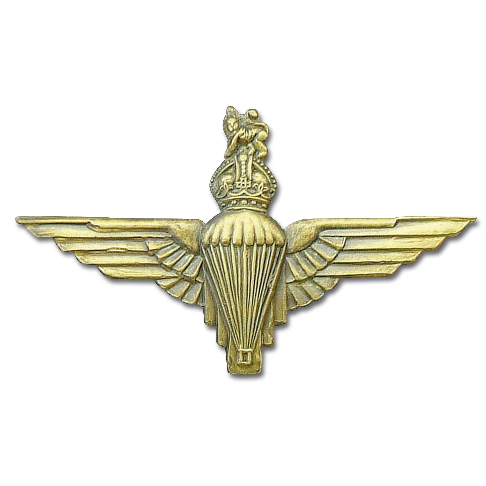 Distintivo in metallo Parà Corona Regina