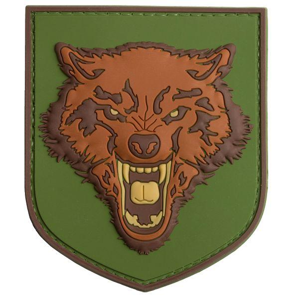 Patch 3D TAP Wolf, figura a pieni colori