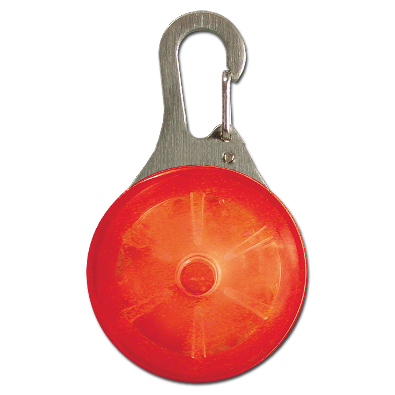 Mini lampada con moschettone SpotLit, Nite Ize, rossa