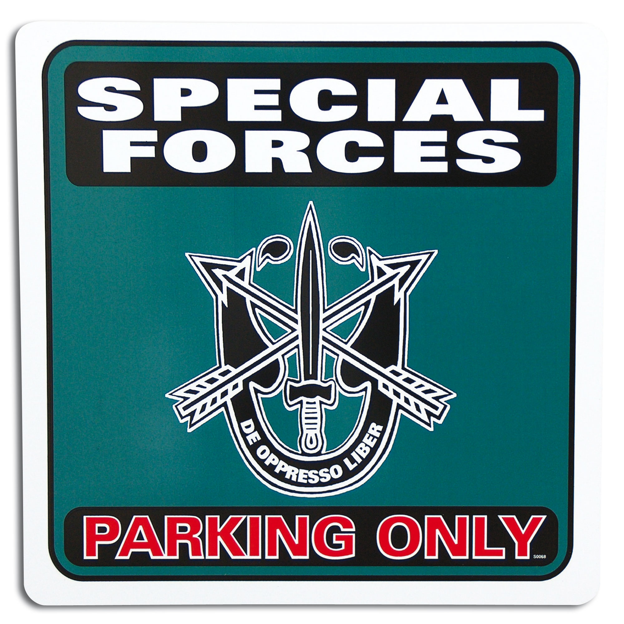 Park sign Special Forces