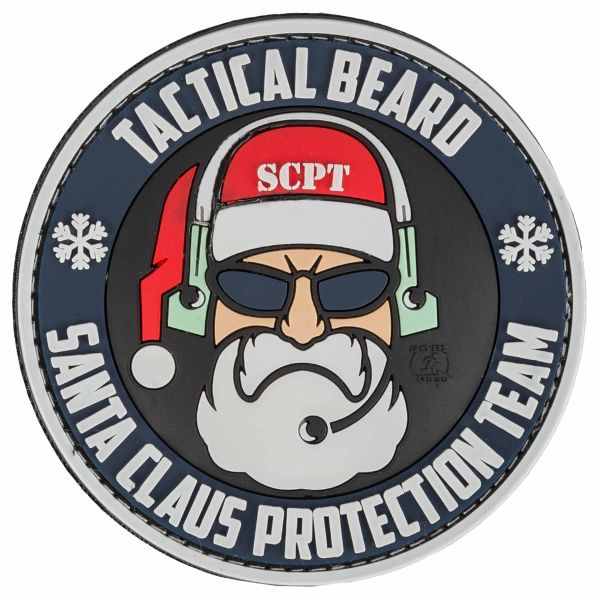 Patch 3D JTG Special Tactical Beard Santa Claus Protection Team