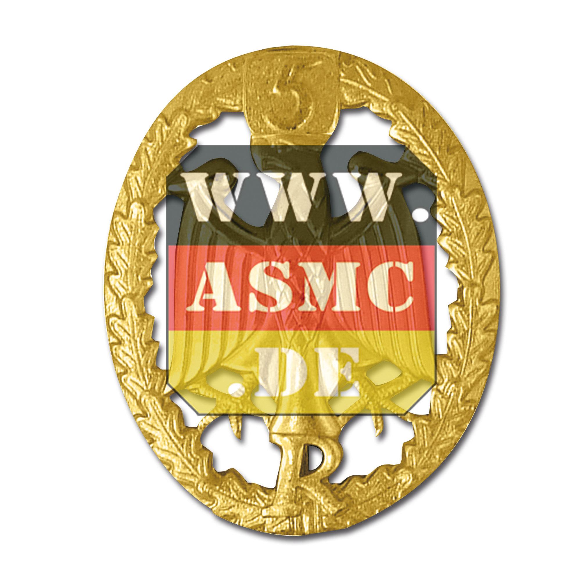 Leistungsabzeichen Reservisten Metall gold Zahl 5