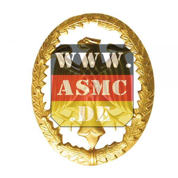 Distintivo di grado in metallo oro