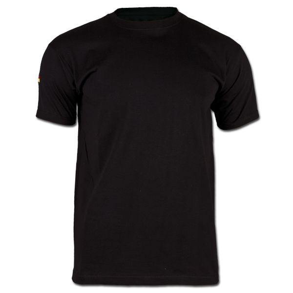 Maglietta intima BW tropicale senza velcro nera