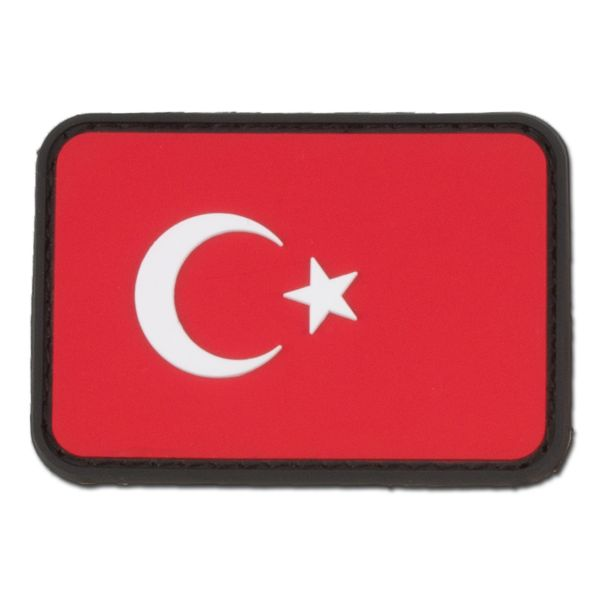 Patch 3D Turchia pieni colori