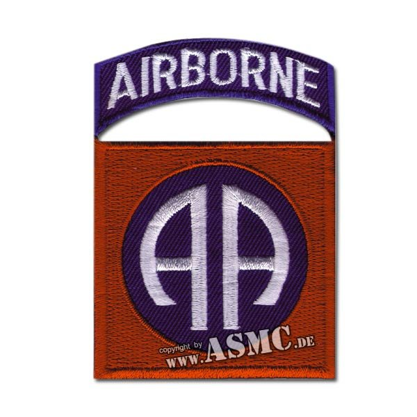 Insignia US 82nd Airborne tab