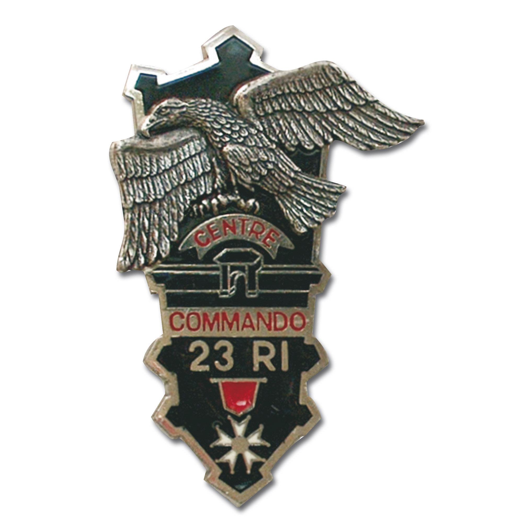 French metall insignia CEC 23e RI