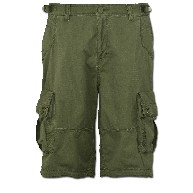 Shorts Terrance, Vintage Industries, verde oliva