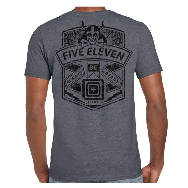 T-Shirt marca Viking Crest erica carbone