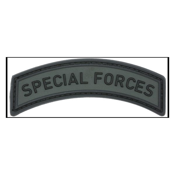Patch 3D Special Forces Tab battle grey