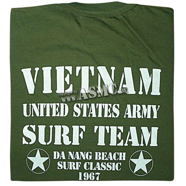 T-Shirt Vietnam Surf Team oliva