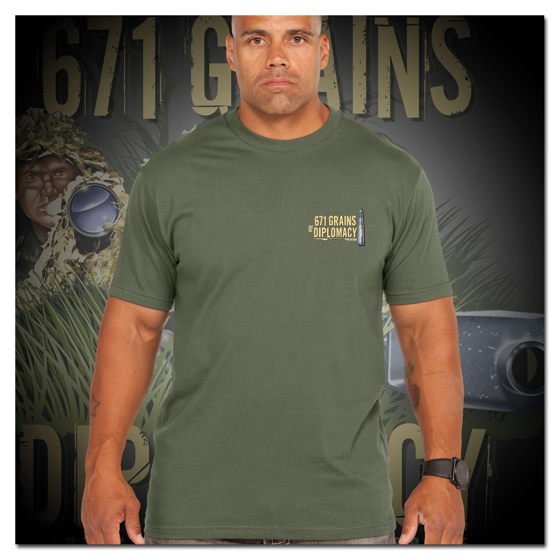 T-Shirt 7.62 Design Sniper Team